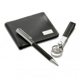 Set cadou:pix+breloc+portmoneu KC7109-03