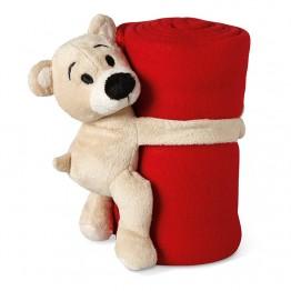Pătură polar cu ursuleț        MO8252-05