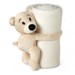 Pătură polar cu ursuleț        MO8252-06