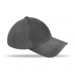 Șapcă cu 6 panele prespălată   MO8833-03