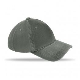 Șapcă cu 6 panele prespălată   MO8833-07